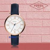 FOSSIL 手錶 專賣店 ES3843 女錶 石英錶 皮革錶帶 防水 強化礦石玻璃鏡面 全新品 保固一年 開發票