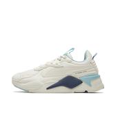 PUMA 男款復古米白X藍休閒運動鞋-NO.37429201