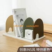桌面創意書立書本書架 收納小桌簡約簡易書立架書夾書靠書擋書【少女顏究院】