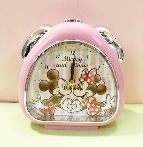 【震撼精品百貨】Micky Mouse_米奇/米妮 ~迪士尼鬧鐘-米奇米妮紅#06703