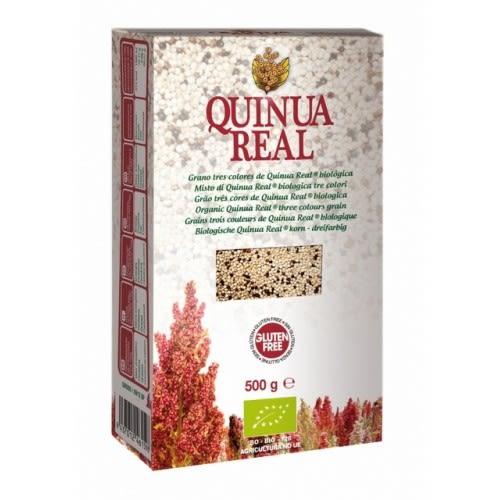 【QUINUA REAL】有機三色藜麥 (500g/盒) ~無麩質、低GI值