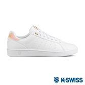 K-Swiss Clean Court CMF休閒運動鞋-女-白/粉紅/金