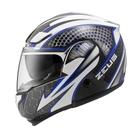 【東門城】ZEUS ZS3300 GG27(白藍) 可掀式安全帽 雙鏡片