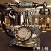 電話機 GDIDS仿古電話機歐式復古田園時尚創意無線插卡電話機家用座機 生活主義