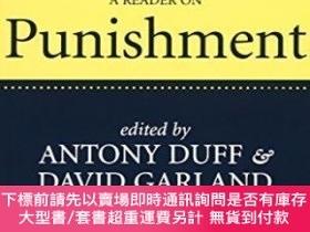 二手書博民逛書店A罕見Reader On PunishmentY256260 Duff, Garland; Garland,