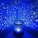 星空投影燈浪漫旋轉夢幻臥室七彩燈創意抖音玩具發光球睡眠燈 【七七小鋪】