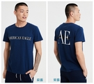 (BJGO) AE SHORT SLEEVE GRAPHIC TEE 美國AE老鷹圓領短袖T恤 背面有logo