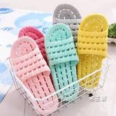 浴室拖鞋 日式室內家用軟底洗澡防滑情侶外穿涼拖鞋女夏季男家居鞋