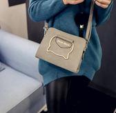 手提包 - 單肩斜挎字母印花手提包
