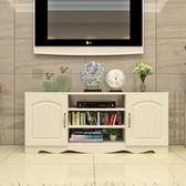 簡約現代電視櫃歐式鋼化玻璃客廳茶幾組合小戶型迷你地櫃視聽櫃子igo    韓小姐的衣櫥