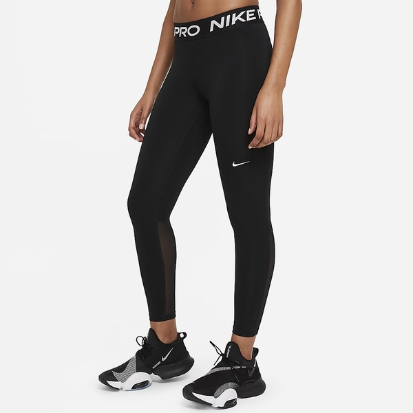 【現貨】Nike Pro 女裝 長褲 緊身 休閒 訓練 健身 透氣 乾爽 支撐 黑【運動世界】CZ9780-010