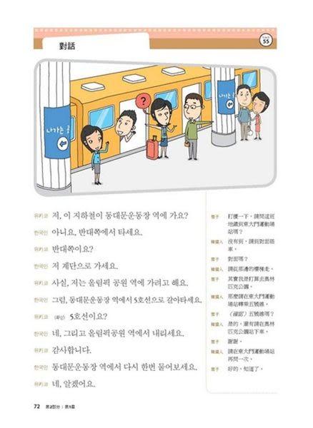我的第一本韓語會話(附MP3)
