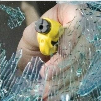 $79(不含玻璃) 車窗擊破器,逃生,急救,火災,消防用品,割繩器,安全槌,中心衝