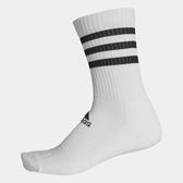 Adidas 3S CSH CRW1P [FH6628] 中筒襪 透氣 舒適 彈性 男女 白黑