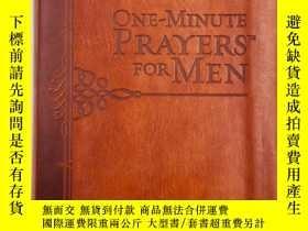二手書博民逛書店One-Minute罕見Prayers for MenY19139 Harvest House Publish