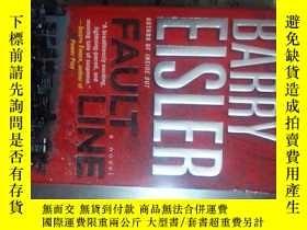 """二手書博民逛書店I罕見""""Fault line""""外國原版Y349 Barry Ei"""