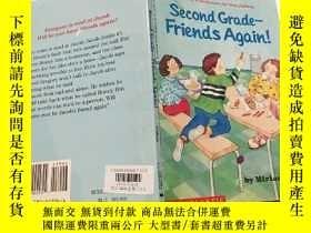 二手書博民逛書店Second-Grade罕見Friends:(英文原版少兒,二年級的朋友們Y200392
