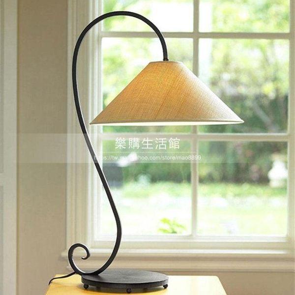 臥室床頭燈簡約鐵藝復古燈LG-28291