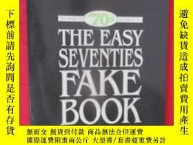 二手書博民逛書店The罕見Easy Seventies Fake Book (8