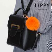 LIPPY 大空間收納通勤-後背包Backpack 瑪婕爾Maje-大黑
