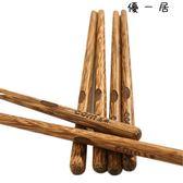 玉米雞翅木兒童筷子寶寶筷小孩家用防滑