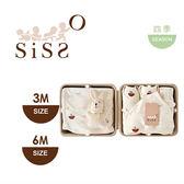 【SISSO有機棉】SISSO SISSO親愛寶寶好柔棉禮盒(咖咖兔)3M 6M