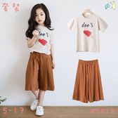 現貨 棉質 韓系紅冰棒裙褲套裝,10歲以內可穿 【98526】