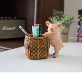 家點靚 可愛豬家居裝飾品客廳玄關鑰匙收納擺件創意家裝小豬擺設【全館免運】
