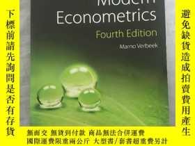 二手書博民逛書店A罕見Guide to Modern EconometricsY