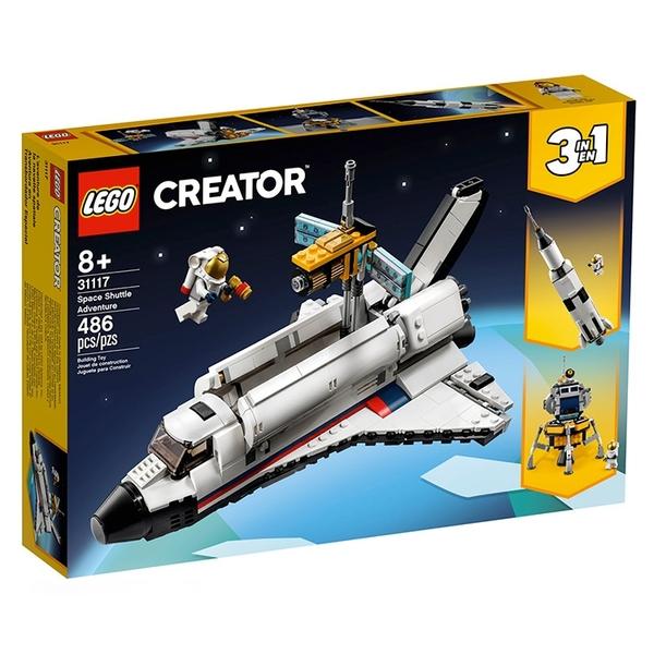 LEGO 樂高 創意百變系列-三合一太空梭歷險_LG31117