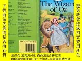 二手書博民逛書店Ladybird罕見硬精裝 英文原版名著 奧茲國的巫師 綠野仙蹤