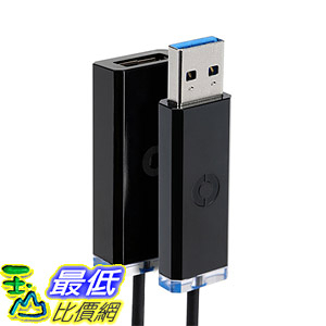 [美國直購] Corning AOC-ACS2CVA010M20  USB 3.0 Optical Cable線 10 Meter 5 Gb/s data rate (32.8 )
