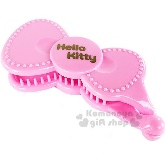 〔小禮堂〕Hello Kitty 造型香蕉夾《粉蝴蝶結》甜美可愛8021735-67760