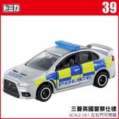 TOMICA 多美小汽車 NO.39 三菱英國警察仕樣 MITSUBISHI LANCER《TAKARA TOMY》