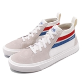 Skechers 休閒鞋 Champ Ultra 白 藍 中筒 麂皮鞋面 板鞋 時尚健走鞋 運動鞋 男鞋【PUMP306】 18566WHT