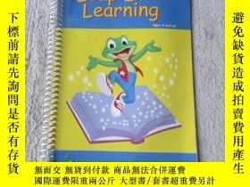 二手書博民逛書店Leap罕見Into Learning [Spiral-boun