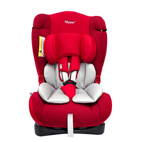 Nipper 0-7歲兒童汽車安全座椅-紅