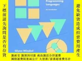 二手書博民逛書店The罕見Formal Semantics Of Programming LanguagesY364682 G