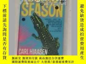 二手書博民逛書店《罕見Tourist Season 》Carl Hiaasen