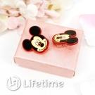 ﹝迪士尼塑膠耳環﹞正版 耳夾式耳環 夾式耳環 耳飾 附贈禮物盒 米奇〖LifeTime一生流行館〗