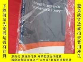 二手書博民逛書店Optimal罕見Estimation in Approximation Theory (16開) 【詳見圖】