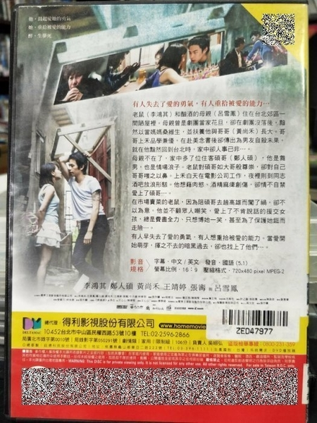 挖寶二手片-P05-130-正版DVD-華語【醉生夢死】-暑假作業-張作驥作品*金馬獎最佳影片等10提名(直購