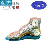 佳新 肢體裝具(未滅菌)【海夫】佳新醫療 人體工學 線內側縱弓 吸震 高弓足鞋墊(JXFS-002)