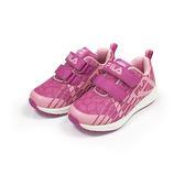 《FILA》兒童 夜光MD慢跑鞋 紫粉色 2-J826S-595