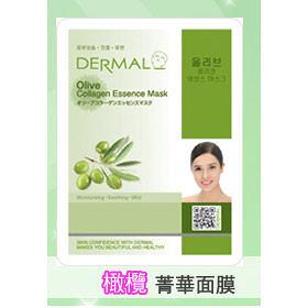 ◇天天美容美髮材料◇ 韓國DERMAL 橄欖抗老保濕面膜 1入 [42755]