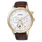 CITIZEN 月相盈虧光動能腕錶(AP1052-00A)/43mm