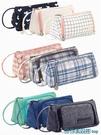 文具盒 韓國大容量帆布筆袋簡約女孩可愛多功能網紅少女文具盒筆盒高中生鉛筆袋日系 快速出貨
