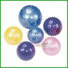 顆粒瑜珈小球(8吋充氣筒(附充氣球針))(指壓按摩球/韻律小球/彈力球/刺球)