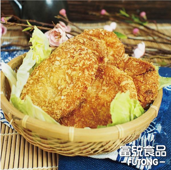【富統食品】利安鑫 花枝蝦排 300G/盒;6片/盒