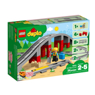10872【LEGO 樂高積木】得寶幼兒系列 Duplo -鐵路橋與鐵軌 (26pcs)